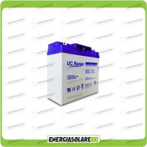 Batteria AGM Ultracell 5AH 12V Deep cycle