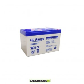 Batteria Ultracell 12Ah 12V serie UL