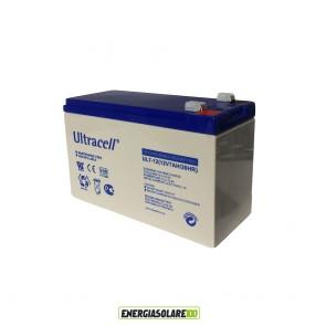 Batteria Ultracell 7AH 12V serie UL x allarme Gruppo Continuità UPS