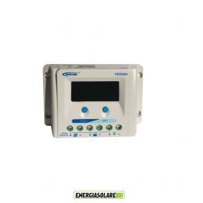 Regolatore di Carica Solare Ep Solar ViewStar A 20A 12/24V con Display LCD