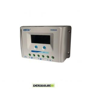 Regolatore di Carica Solare Ep Solar ViewStar A 30A 12/24V con Display LCD
