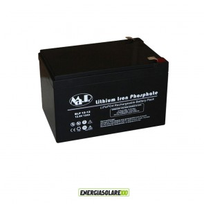 Batteria Litio 12.8V 12Ah UPS Storage Veicoli Elettrici Inverter Illuminazione