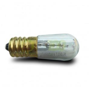 Lampadina Votiva a Led 0.3Watt 12V dc-ac 24V dc E14 a Luce Calda