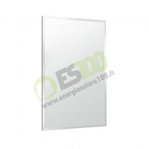 Termosifone Quadro Riscaldamento Infrarossi 600W 600x900mm Bianco Alluminio 25mq