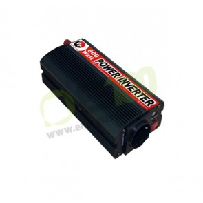 Inverter 600W DC/AC 12/220V ad onda sinusoidale modificata
