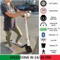 Monopattino Elettrico ONAN 250W 36V 7.8Ah Litio Multi Velocità Display Bluetooth Colore Bianco