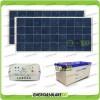 Kit Solare fotovoltaico per Allarme 12 volt pannelli 150W policristallini