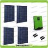Impianto Fotovoltaico 1.1KW Inverter ibrido onda pura Edison50 5kW 48V con regolatore di carica PWM 50A