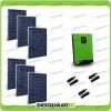 Impianto fotovoltaico 1.6KW pannelli Inverter ibrido ad onda pura Edison50 5KVA 5KW 48V con regolatore PWM 50A