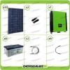 Kit solare fotovoltaico 8KW Inverter onda pura Infinity 10Kw 48V regolatore MPPT 15Kw 900Vdc Batterie GEL