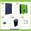 Kit solare fotovoltaico 8.4KW Inverter onda pura Infinity 10Kw 48V regolatore MPPT 15Kw 900Vdc Batterie OPzS