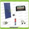 Kit Solare Camper 150W 12V passacavo supporto spoiler colla sigillante regolatore di carica