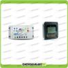 Kit regolatore di carica 20A 12V 24V con display Mt-50 LS2024B