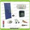 Kit Solare Fotovoltaico Pro Roulotte Caravan da 150W 12V Batteria Servizi