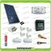 Kit Solare Fotovoltaico Pro Roulotte Caravan Da 200W 12 V Batteria Servizi