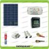 Kit Solare Fotovoltaico Pro Roulotte Caravan da 80W 12V Batteria Servizi