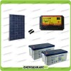 Kit Starter Plus Pannello Solare HF 270W 24V Batteria Gel 200Ah  Regolatore PWM 10A NV10