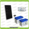 Kit Starter Plus Pannello Solare 300W 24V Batteria Gel 100Ah  Regolatore PWM 20A LS2024B