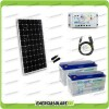Kit Starter Plus Pannello Solare 300W 24V Batteria Gel 150Ah  Regolatore PWM 20A LS2024B e Cavo USB RS485