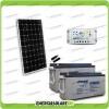 Kit Starter Plus Pannello Solare 300W 24V Batteria AGM 150Ah  Regolatore PWM 20A LS2024B
