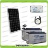 Kit Starter Plus Pannello Solare 300W 24V Batteria Agm 150Ah  Regolatore PWM 20A LS2024B e Cavo USB RS485