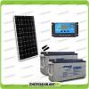 Kit Starter Plus Pannello Solare 300W 24V Batteria AGM 150Ah  Regolatore PWM 20A NV20