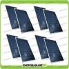 Set 8 Pannelli Solari Fotovoltaici 200W 12V Policristallino Pmax 1600W Baita Barca