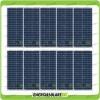 Set 10 Pannelli Solari Fotovoltaici 30W 12V multiuso Pmax 300W Baita Barca