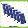 Set 6 Pannelli Solari Fotovoltaici 20W 12V multiuso Pmax 120W Baita Barca