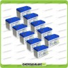 Stock 10 Batterie x Impianto Solare Ultracell 100Ah UCG100 Capienza 10560Wh