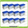 Stock 12 Batterie x Impianto Solare Ultracell 100Ah UCG100 Capienza 12672Wh