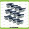 Stock 12 Batterie x Impianto Solare Ultracell 200Ah UCG200 Capienza 23040Wh
