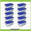 Stock 10 Batterie x Impianto Solare Ultracell 250Ah UCG250 Capienza 25680Wh