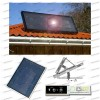 Kit Stufa Solare ad Aria Calda SVI7S Area Max 50mq + Regolatore di Velocità + Kit staffe Tetto Piano Inclinato