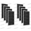 Set 8 x Pannelli Solari Fotovoltaico 300W 24V tot. 2400W Casa Baita Stand-Alone