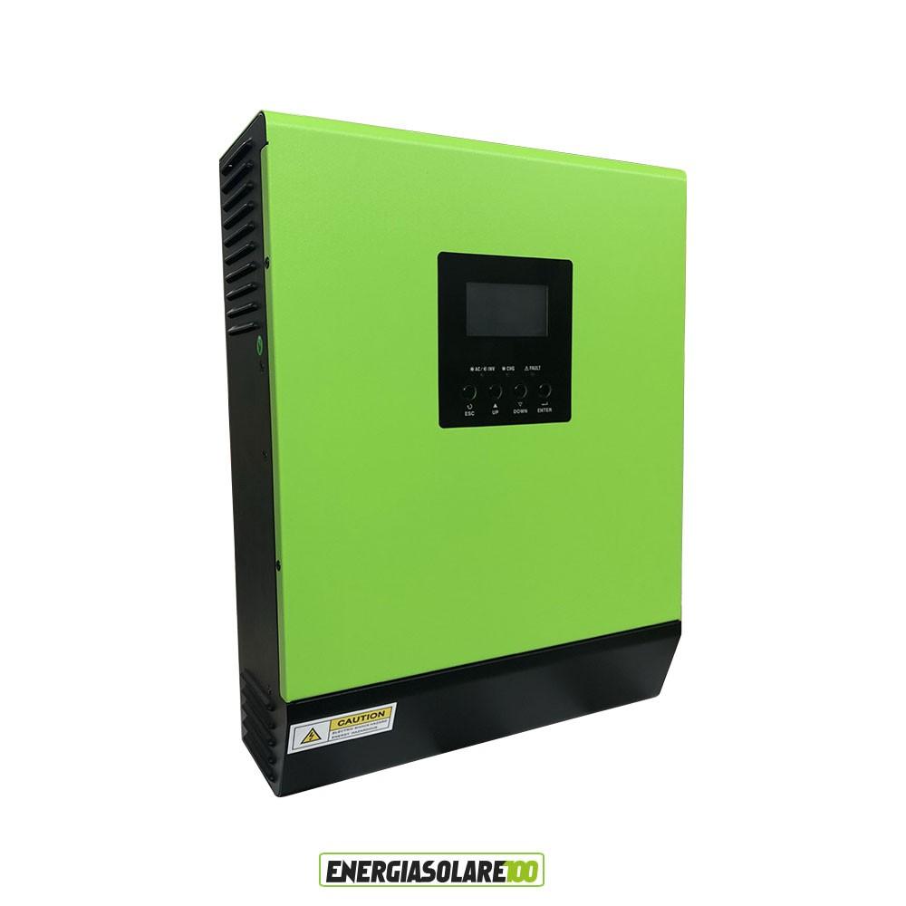 kit solare per impianto fotovoltaico da 1 5 kw inverter