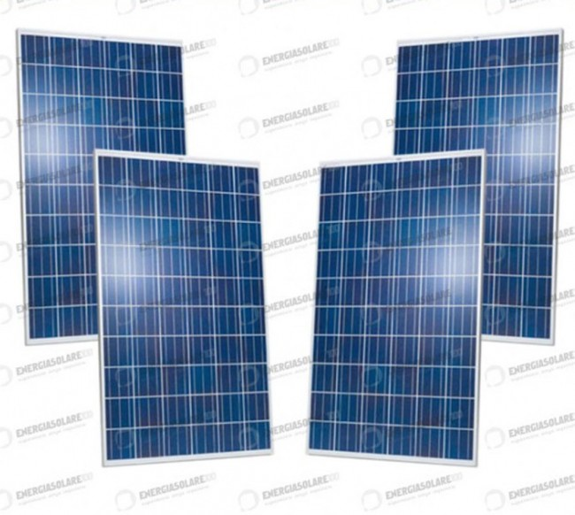 2 Extra European Photovoltaic panneau solaire 280W 30V maison Baita stand-alone