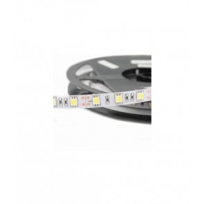 5 METRI STRISCIA 300 LED 5050 SMD PER INTERNO IP20 24 V DC PREMIUM SERIES