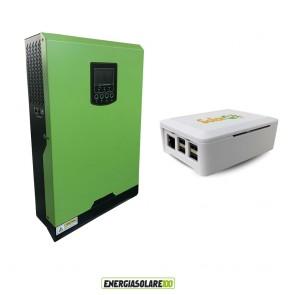 Inverter onda pura Edison50 4KW 48V PWM 50A con connessione internet (Set Kit)