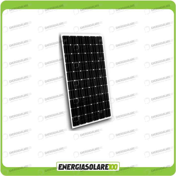 Pannello Solare Monocristallino O Policristallino : Pannello solare fotovoltaico w v monocristallino made