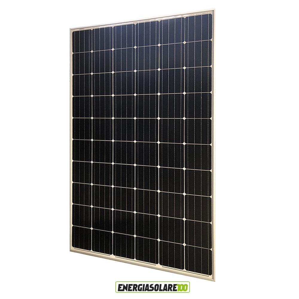 Pannello Solare Quanti Watt : Pannello solare fotovoltaico w v monocristallino made