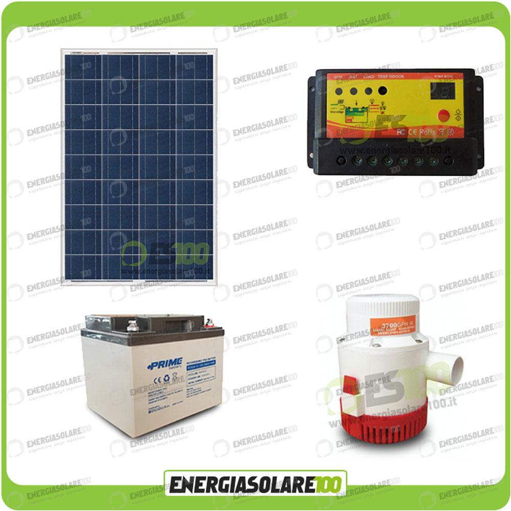 kit arrosage irrigation solaire autonome panneau 80w pompe irrigation 12v 3500gp ebay. Black Bedroom Furniture Sets. Home Design Ideas