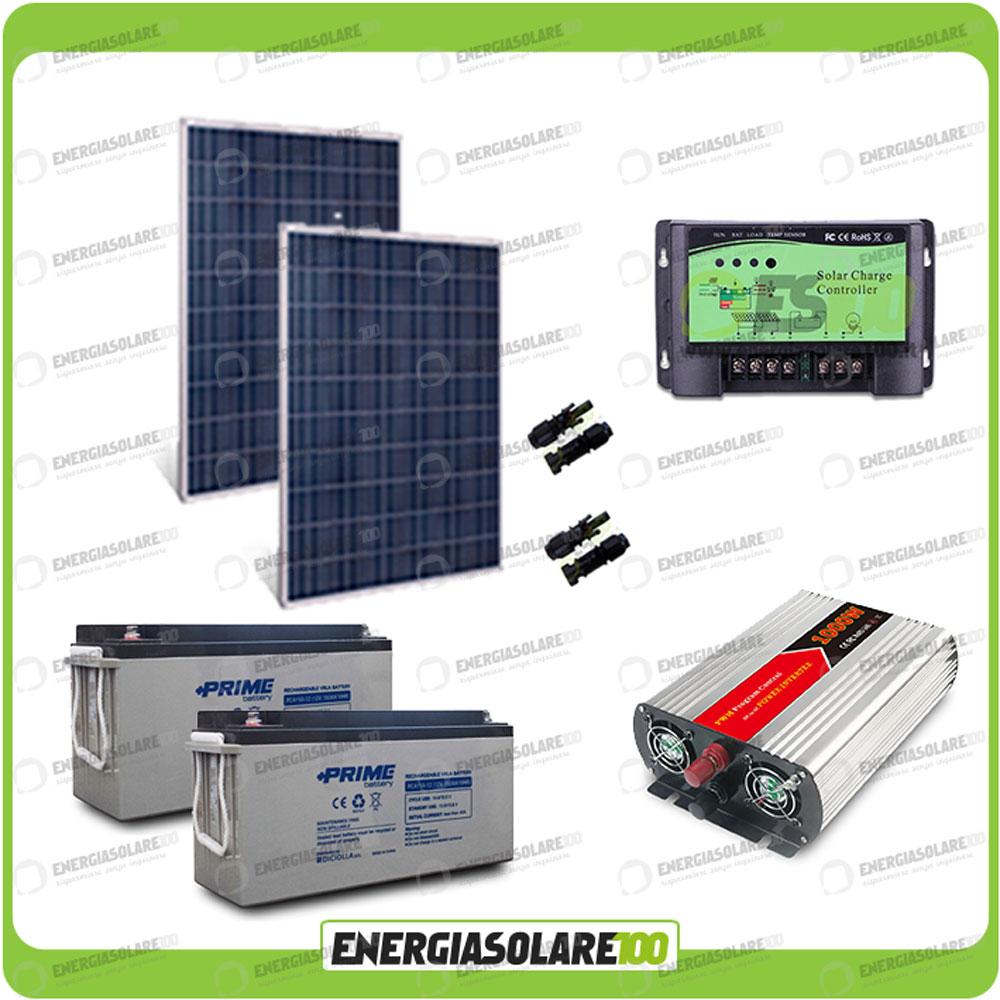 Pannello Solare Kit Baita : Kit baita pannello solare w v inverter onda