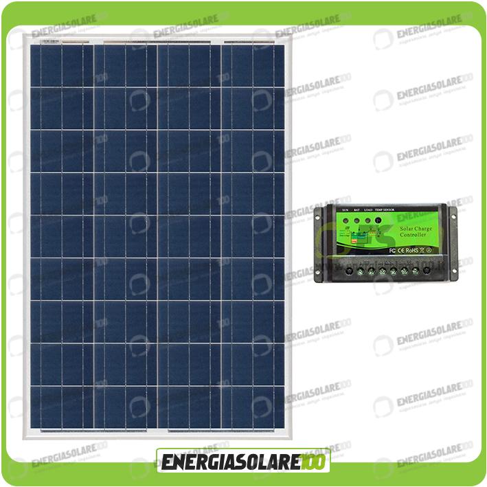 kit solaire de maintien de charge batterie panneau 100w 12v bateau caravane camp ebay. Black Bedroom Furniture Sets. Home Design Ideas