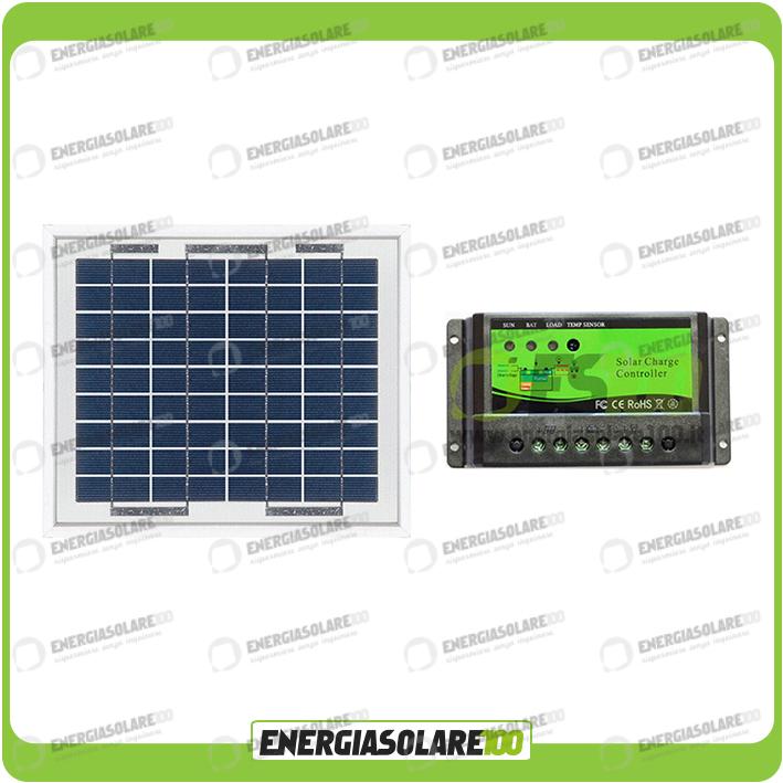 Kit solaire de maintien de charge panneau 5w 12v bateau caravane camping car ebay - Maintien de charge batterie ...