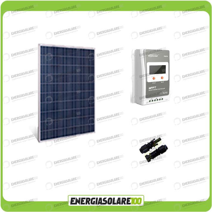 kit photovoltaique panneau solaire 250w 12v r gulateur de. Black Bedroom Furniture Sets. Home Design Ideas