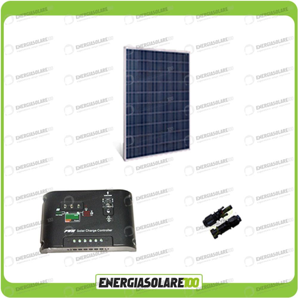 kit panneau solaire 250w 24v poly r gulateur de charge pwm 10a campingcar ebay. Black Bedroom Furniture Sets. Home Design Ideas