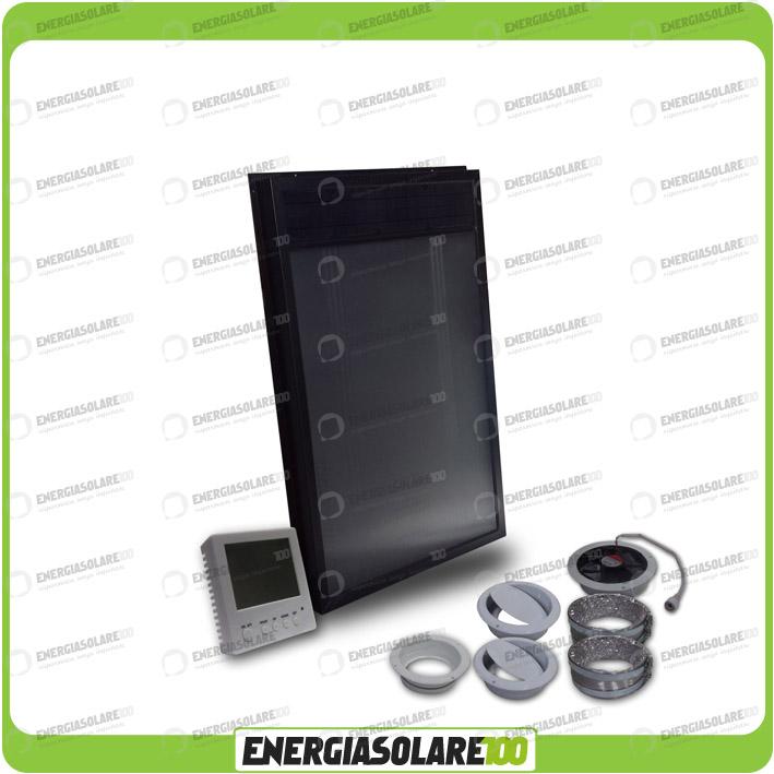 Pannello Solare Grammer Ad Aria Calda : Collettore solare ad aria os d con termostato